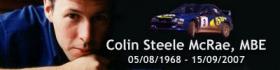 Colin Steele McRae - 05/08/1968 > 15/09/2007